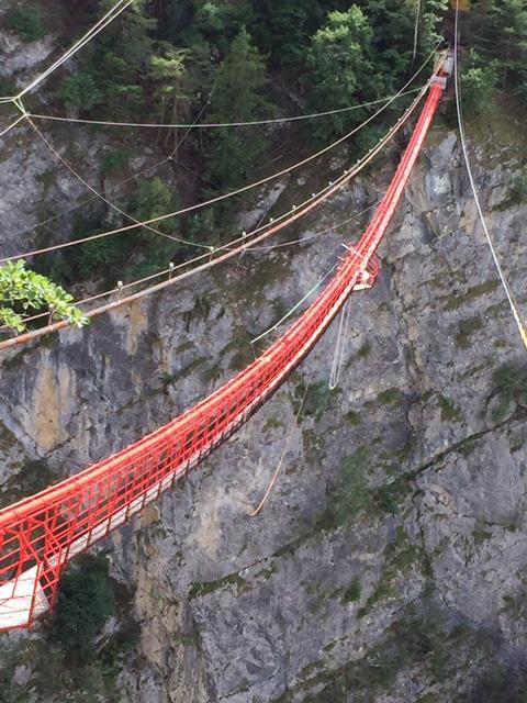 Rebberge und Hängebrücke – Stage 2