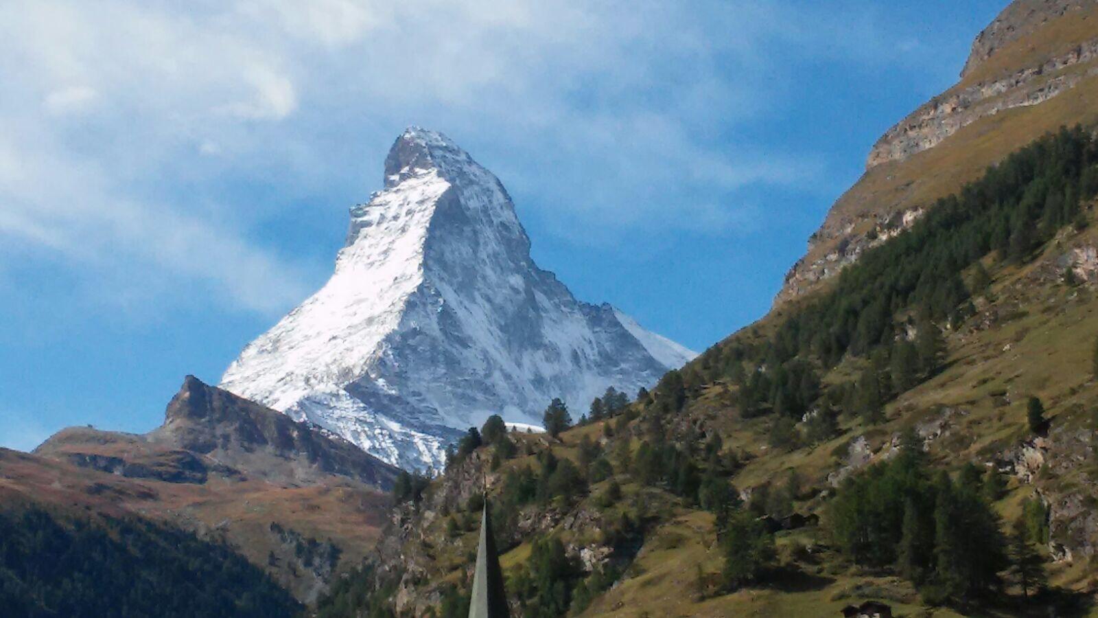 Kalt und Frostig auf dem Weg nach Zermatt