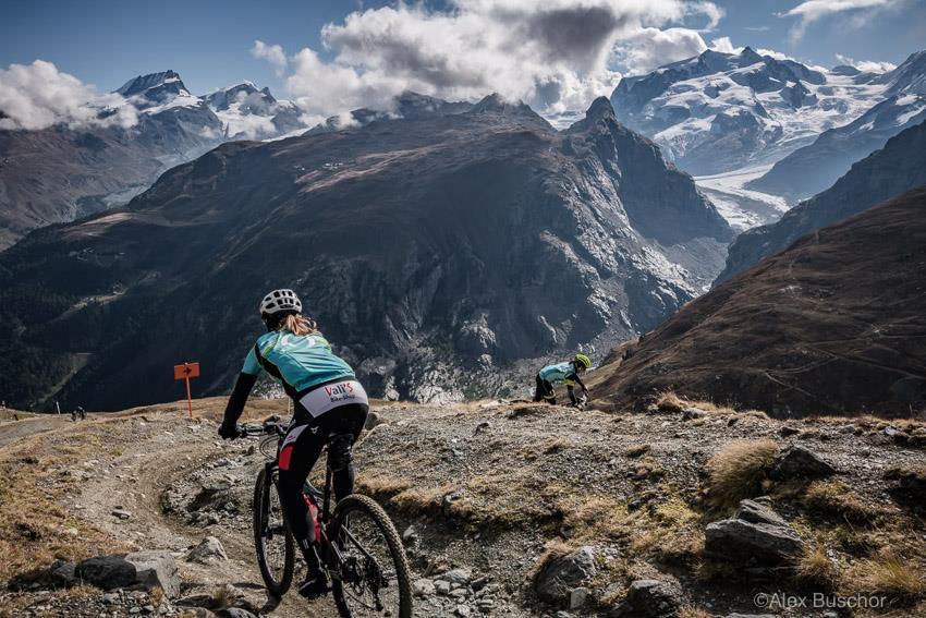 Finale Etappe rund um Zermatt